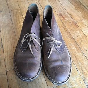 Clark's ankle shoe